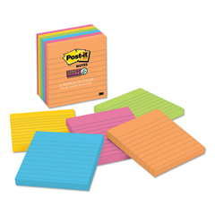 MMM6756SSUC - Post-it® Pads in Rio de Janeiro Colors