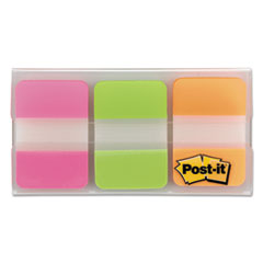 MMM686PGO - Post-it® Durable Assorted Color Hanging File Folder Tabs