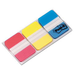 MMM686RYB - Post-it® Durable Assorted Color Hanging File Folder Tabs
