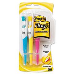MMM689HL3 - Post-it® Flag + Highlighter Flag Highlighters