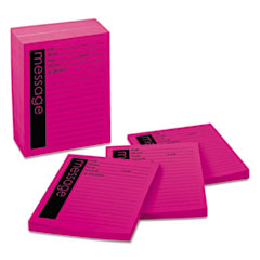 MMM766212SS - Post-it® Super Sticky Self-Stick Message Pad