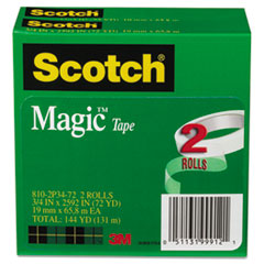 MMM8102P3472 - Scotch® Magic™ Office Tape