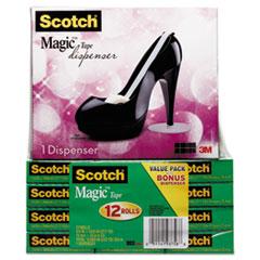 MMM810K12C30B - Scotch® Magic™ Tape Designer Dispenser Value Packs