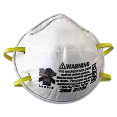 MMM8110S - 3M™ N95 Particulate Respirator 8110S