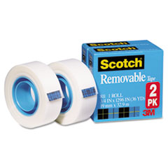 MMM8112PK - Scotch® Removable Tape