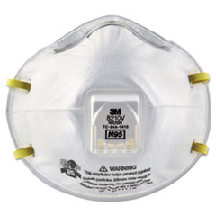 MMM8210V - 3M Particulate Respirator 8210V, N95 with 3M Cool Flow™ Valve