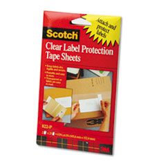 MMM822P - Scotch® ScotchPad Label Protection Tape Pads