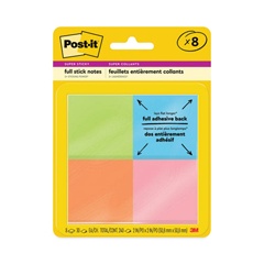 MMMF2208SSAU - Post-it® Full Adhesive Notes