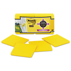 MMMF33012SSY - Post-it® Notes Super Sticky Full Adhesive Notes