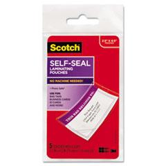 MMMLS8535G - Scotch® Self-Sealing Laminating Pouches