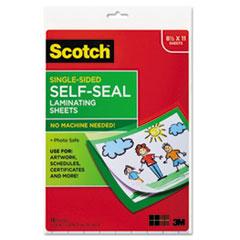 MMMLS854SS10 - Scotch® Self-Sealing Laminating Sheets