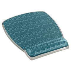 MMMMW308GR - 3M Fun Design Clear Gel Mouse Pad Wrist Rest
