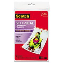 MMMPL900G - Scotch® Self-Sealing Laminating Pouches