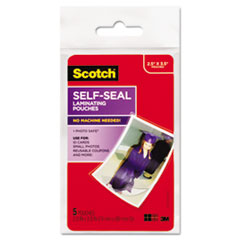 MMMPL903G - Scotch® Self-Sealing Laminating Pouches