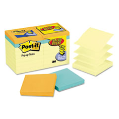 MMMR330144B - Post-it® Pop-up Notes Original Pop-up Notes Value Pack