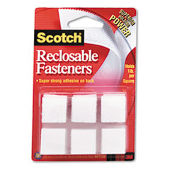 MMMRF7120X - Scotch® Reclosable Hook & Loop Fastener Squares