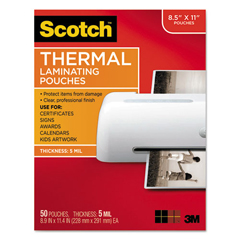 MMMTP585450 - Scotch™ Laminating Pouches