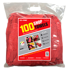 MNB42-ST100 - Monarch Brands - Retail Packed Red Shop Towels, 100/BG