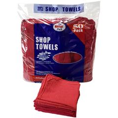 MNBAT-STB50-BG - Monarch BrandsRed Shop Towels, 50/BG