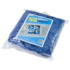 MNBBT50 - Monarch BrandsBlue Absorbent Towels, 50/BG