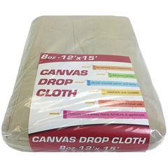 MNBDROP-12X15-8 - Monarch Brands - 8 oz. Drop Cloth, 12 ft. x 15 ft., Medium weight, Large Room Size