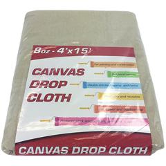 MNBDROP-4X15-8 - Monarch Brands - 8 oz. Drop Cloth, 4 ft. x 15 ft, Medium weight, Runner