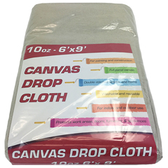 MNBDROP-6X9-10 - Monarch Brands - Drop Cloth, 6 ft. x 9 ft, Medium Weight, Small Room Size
