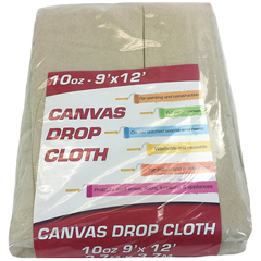 MNBDROP-9X12-10 - Monarch Brands - Drop Cloth, 9 ft. x 12 ft, Heavyweight, Standard Room Size