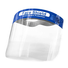 MNBFS-100PC - Monarch Brands - Direct Splash Protection Face Shields. 100 Units