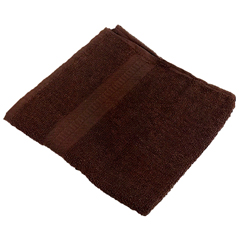 MNBHAND-BROWN - Monarch Brands - TRUE Color 16 x 27 Ring Spun 3 LB Hand Towel, 1 Dozen