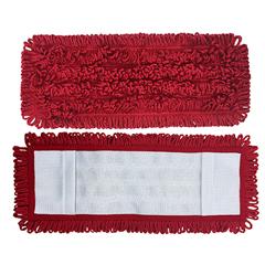 MNBM880018R-MB - Monarch Brands - Red Mesh Backed Side Pocket Mop, 18, 1 Dozen