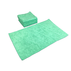 MNBM915105G - Monarch BrandsSmart Choice™ Microfiber Green 80 Gram Hand Towels, 16 x 27, 1 Dozen