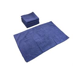 MNBM915105N - Monarch Brands - Smart Choice™ Microfiber Navy 80 Gram Hand Towels, 16 x 27, 1 Dozen