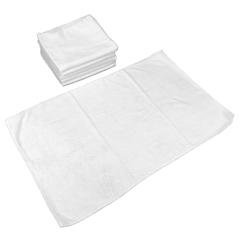 MNBM915105W - Monarch Brands - Smart Choice™ Microfiber White 80 Gram Hand Towels, 16 x 27, 1 Dozen