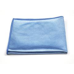 MNBM915160B - Monarch Brands - Blue Shiny Glass Cloth, 16 x 16, 44 gram, 1 Dozen