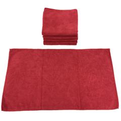 MNBM915210R - Monarch Brands - Red Microfiber Wall Washing Cloth, 59 gram, 1 Dozen