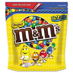 MNM32437 - M & Ms® Milk Chocolate Coated Candy w/Peanut Center