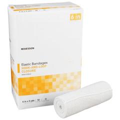 MON03362000 - McKessonElastic Bandage Medi-Pak® Elastic Knit 6 Inch X 5 Yard NonSterile, 10EA/BX