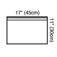 MON10001103 - 3MSteri-Drape Small Towel Drape (1000)