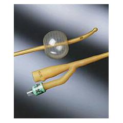 MON10021922 - Bard MedicalFoley Catheter Bardex Lubricath 2-Way Carson Model 5 cc Balloon 22 Fr. Hydrophilic Polymer Coated Latex