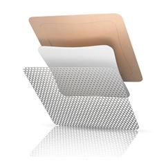 MON10102103 - Systagenix - Silicone Foam Dressing TIELLE ESSENTIAL™ 4 X 4 Inch Square Adhesive with Border Sterile