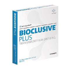 MON10122106 - Systagenix - Bioclusive® Transparent Film Dressing (BIP1012), 100/BX