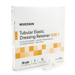 MON10162000 - McKessonRetainer Dressing Tubular Elastic Dressing Elastic Net 30 Yards Size 1
