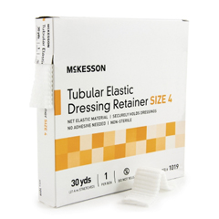 MON10192000 - McKessonRetainer Dressing Tubular Elastic Dressing Elastic Net 30 Yards Size 4