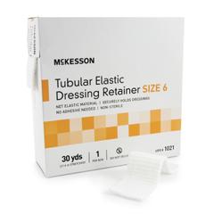 MON10212010 - McKessonRetainer Dressing Tubular Elastic Dressing Elastic Net 30 Yards Size 6