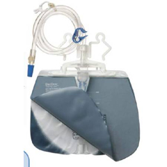 MON717729BX - Sterigear - Urinary Drain Bag Fig Leaf Anti-Reflux Valve 2000 mL