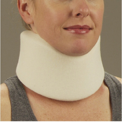 MON10303000 - DeRoyal - Cervical Collar Medium Density Large 4 Inch Height 4 Inch Circumference