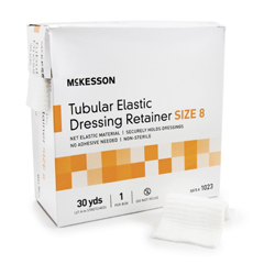 MON10322000 - McKessonRetainer Dressing Tubular Elastic Dressing Elastic Net 30 Yards Size 8