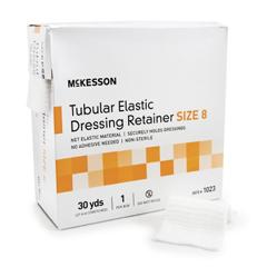 MON10322010 - McKessonRetainer Dressing Tubular Elastic Dressing Elastic Net 30 Yards Size 8