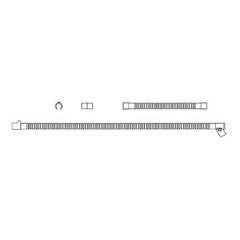 MON10443910 - Fisher & PaykelAnesthesia Breathing Circuit 5 Foot Adult